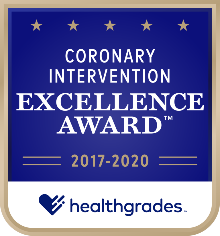 Coronary Intervention Excellence Award 2017-2020