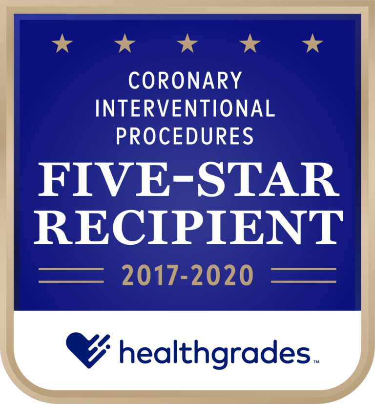Five-Star for Coronary Interventional Procedures 2017-2020
