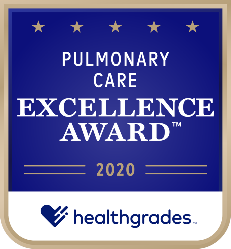Pulmonary Care Excellence Award 2020